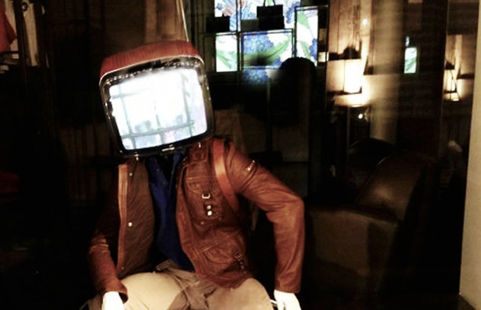 Window display/ Tv Man
