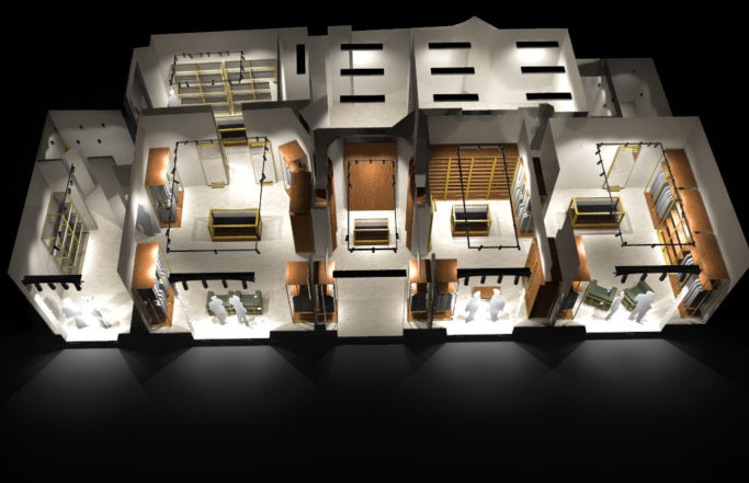 Kiton Showroom